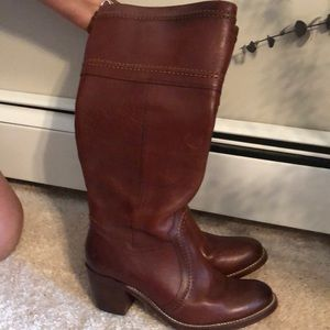 100% Leather Frye Boots